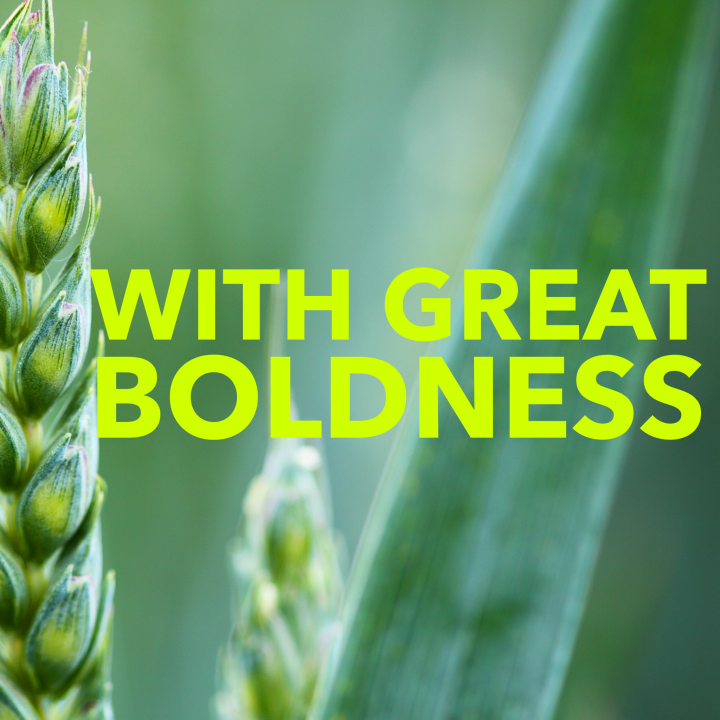 With Great Boldness
