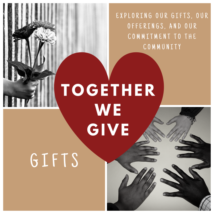 Together We Give: Gifts