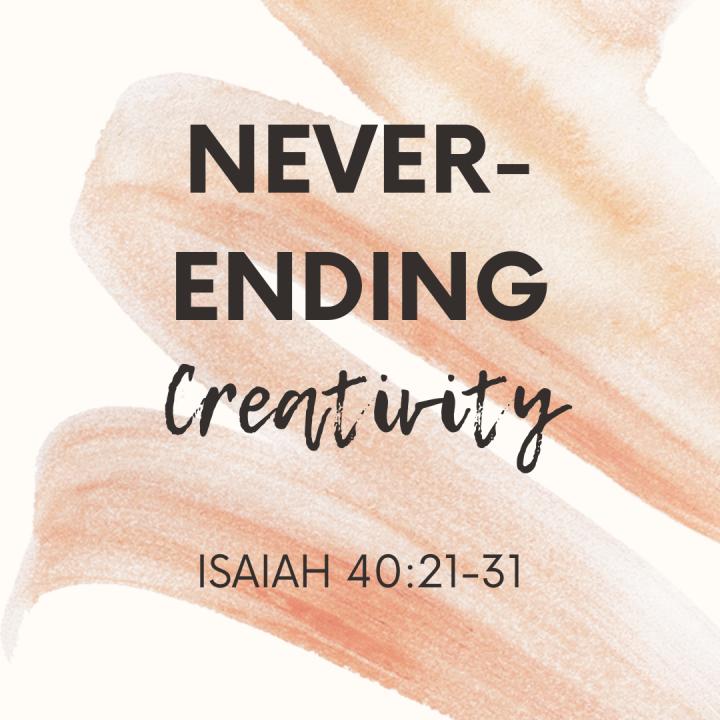Never-Ending Creativity