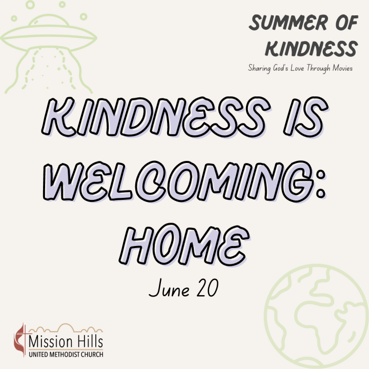 Kindness Is Welcoming:Home